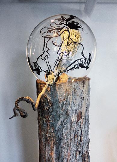 Untitled (Waxy Witch), Michael Stickrod, 2012