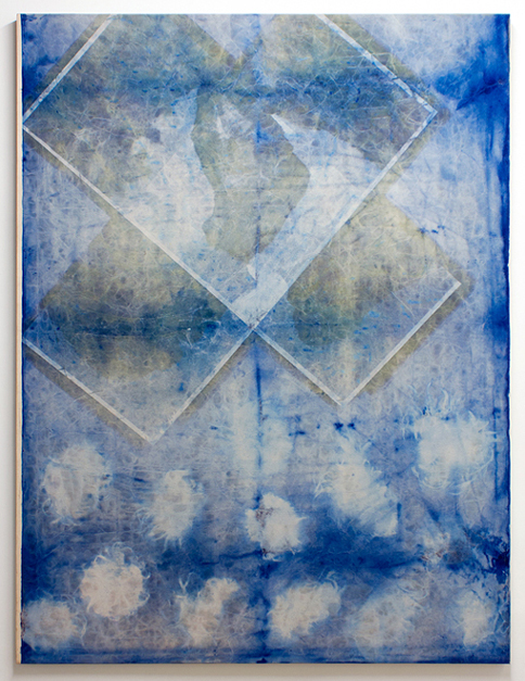 Head Crest (Blue-Wigs), Michael Stickrod, 2014