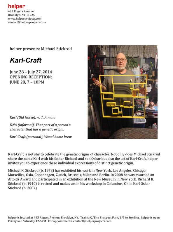 Karl-Craft Press Release, Summer 2014