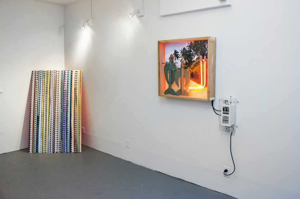 Peace Keeper exhibition view with Silent Hurdler (2013)